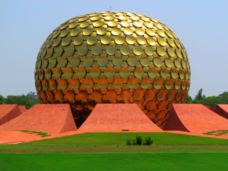 Matrimandir in Auroville
