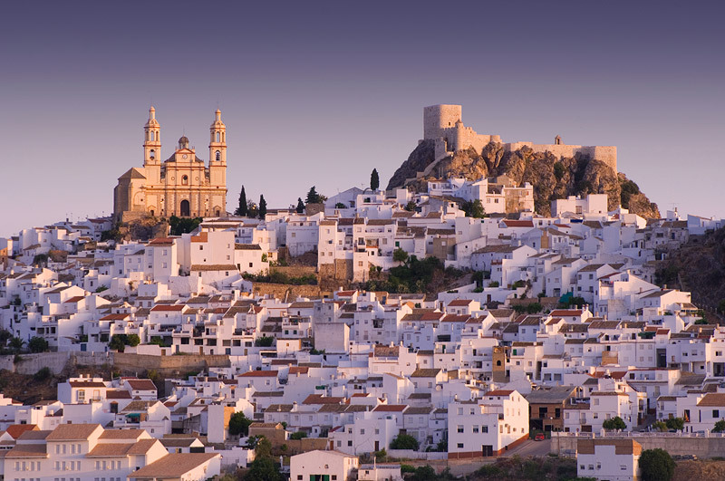 Olvera - white city in Andalucia