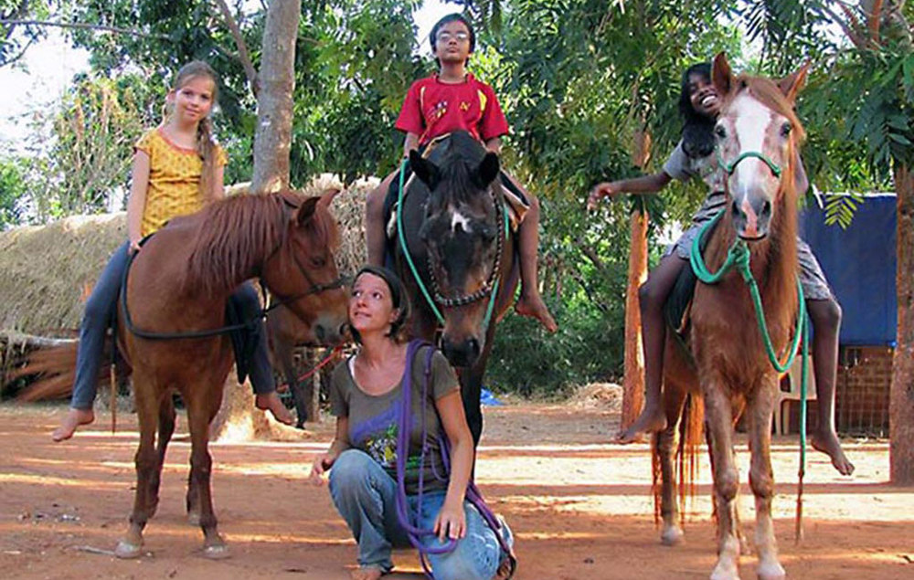 Evergreen school of natural horsemanship, Auroville