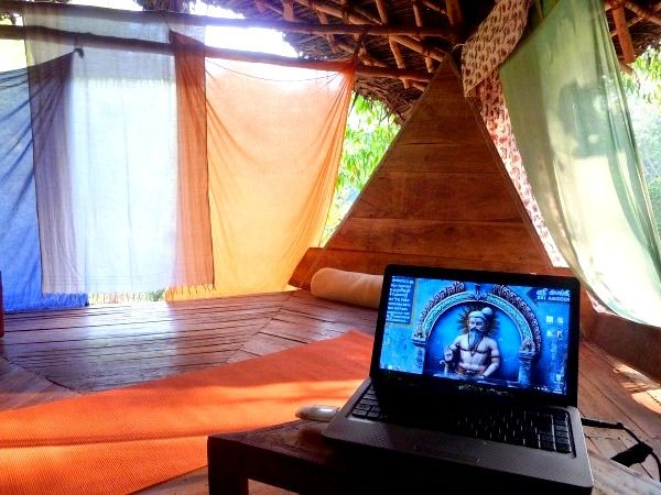 Inside our Auroville 'Capsule'