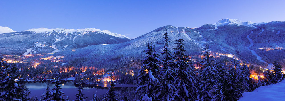 Whistler hosted the 2010 Winter Olympics.