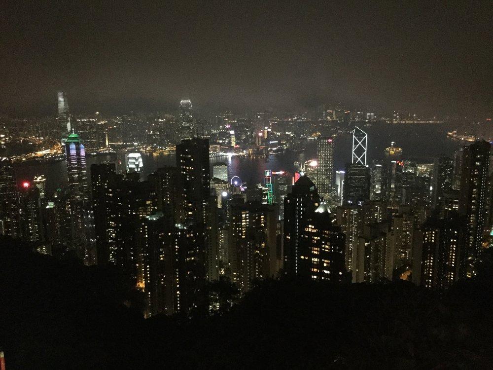 Yesss! Hong Kong.