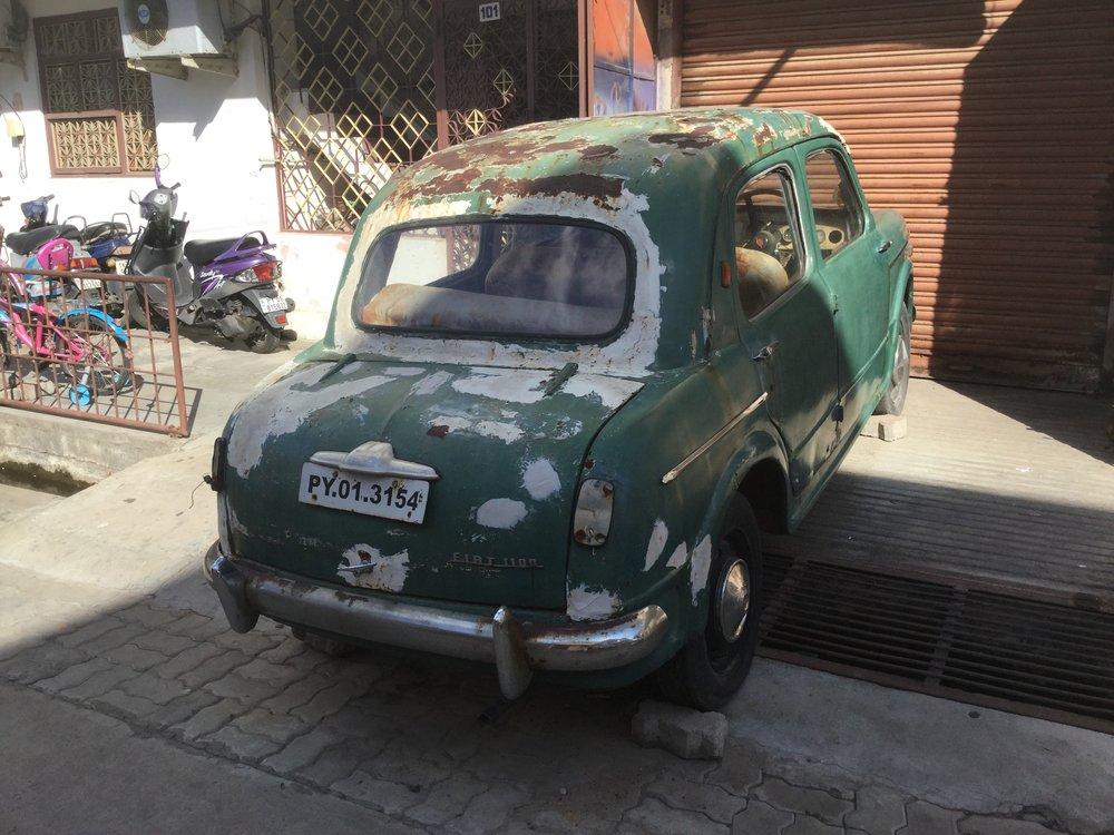 Dante went: wow Fiat Millecento!
