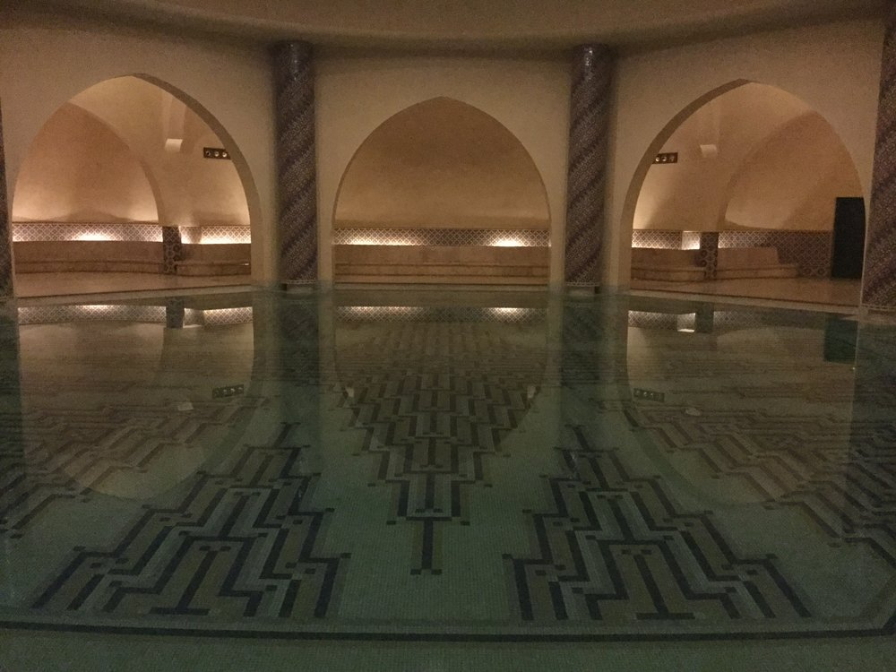 And how about a Turkish bath?