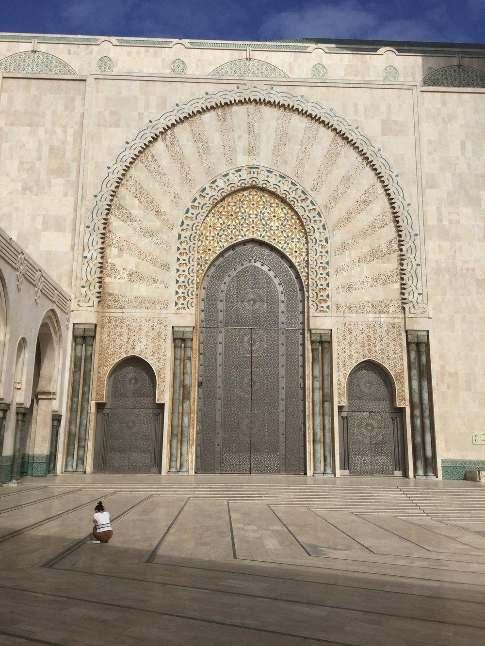 Enormous doors. Just enormous.