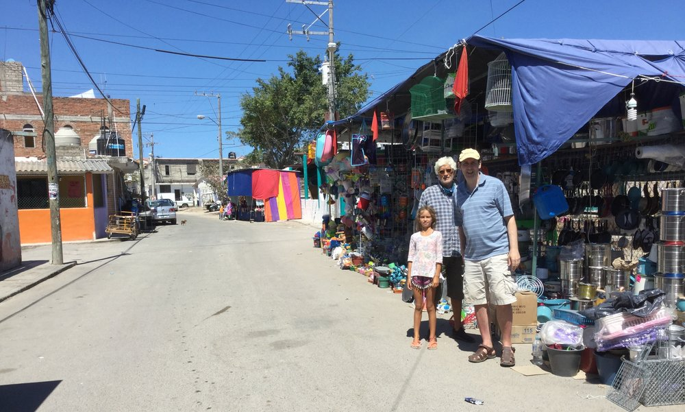 Hanging out in the backstreets of Punta Mita.