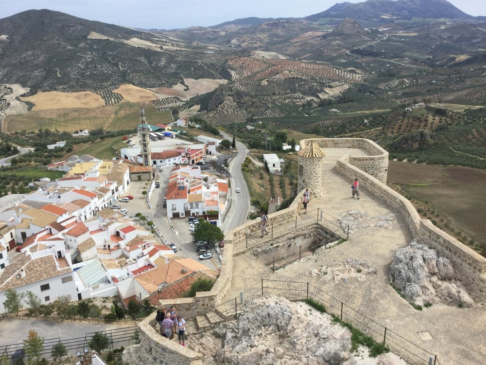 This one is taken from the top level of the castle.