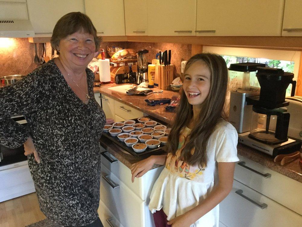 Yum yum home made muffins!