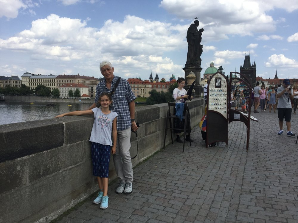 The famous Charles bridge.