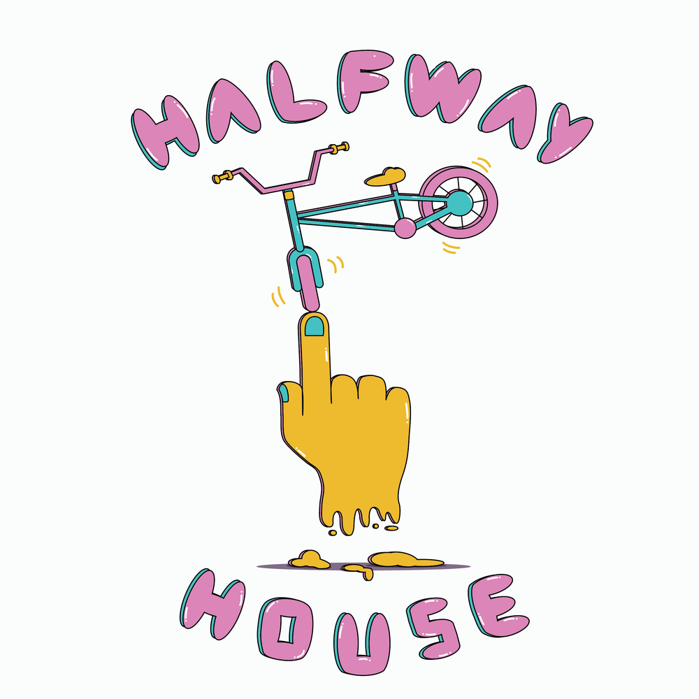 Halfway House BMX Team Logo