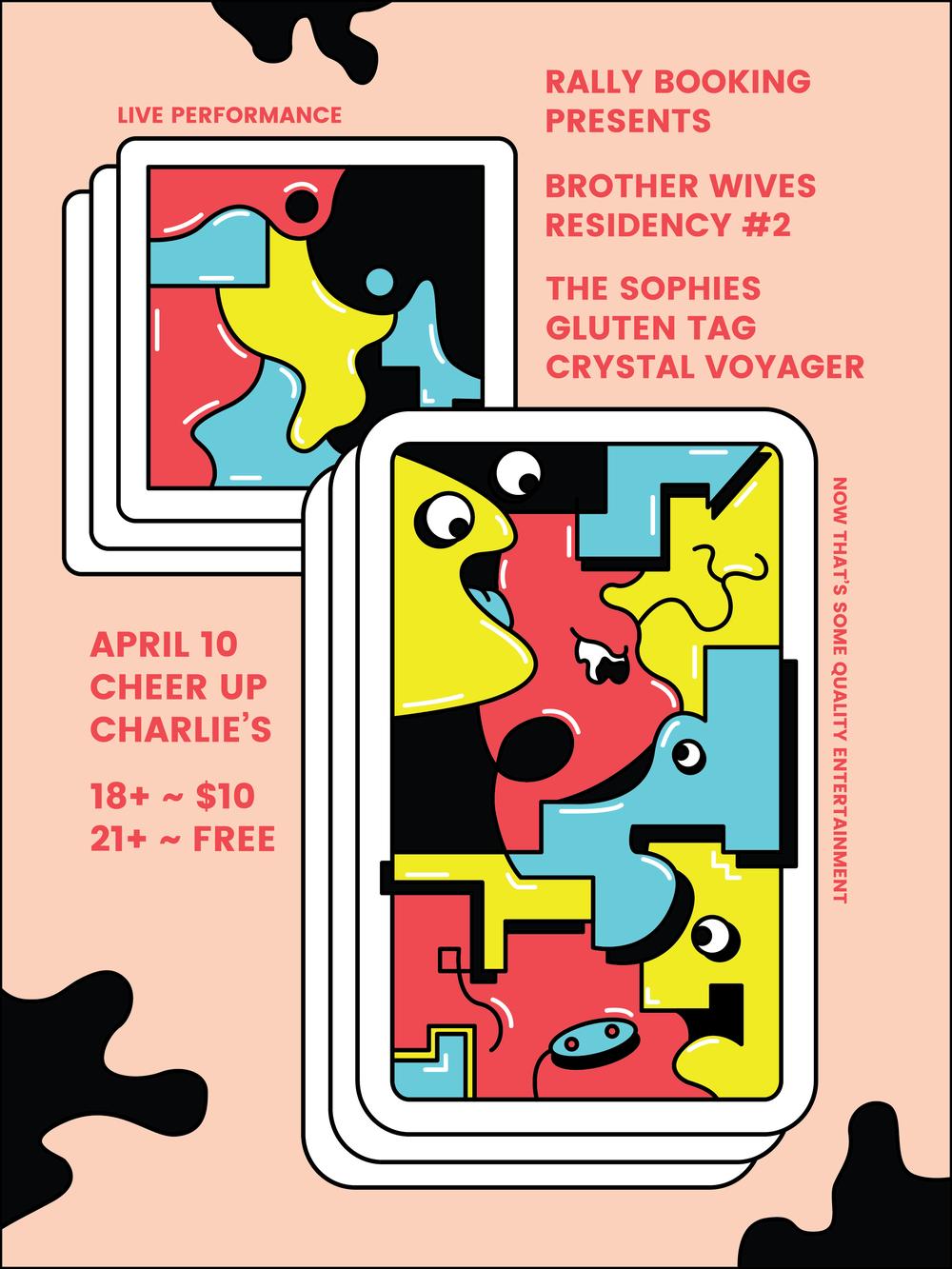 Rally Mondays concert series, April 10, Cheer Up Charlie's, Austin, TX