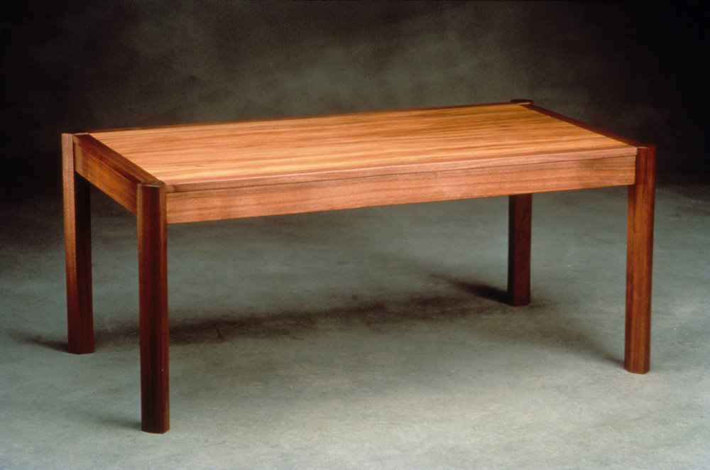 Walnut & redgum table