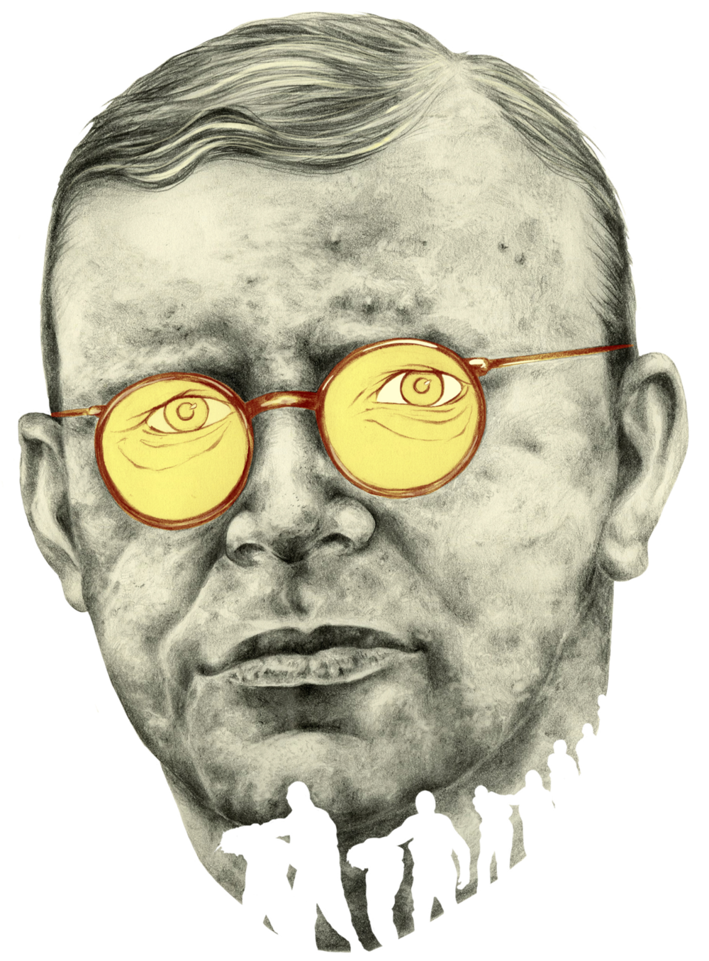 Self-directed work on the enduring legacies of oppressive regimes, featuring German pastor, martyr, and anti-Nazi dissident Dietrich Bonhoeffer, one of history's complicated resistance fighters