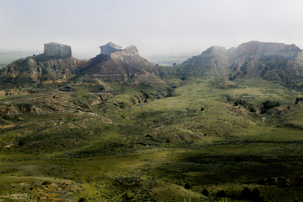 Turret Buttes, Twin Hearts Ranch