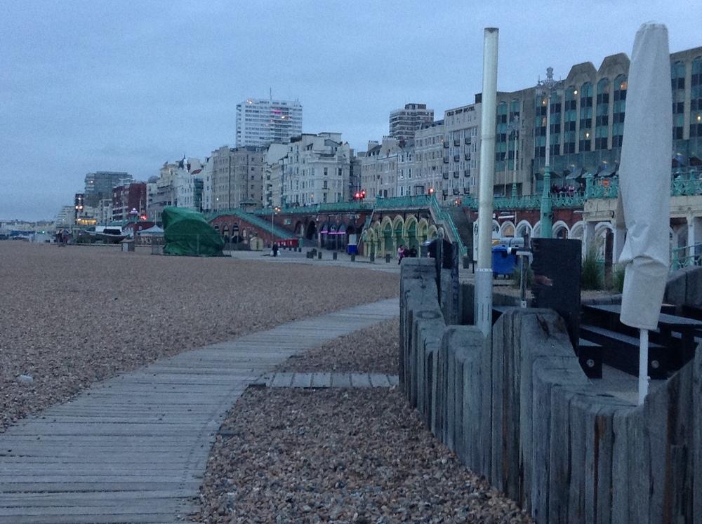 Pebbled Brighton Beach