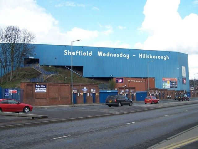 Hillsborough Stadium, Home of Sheffield Wednesday