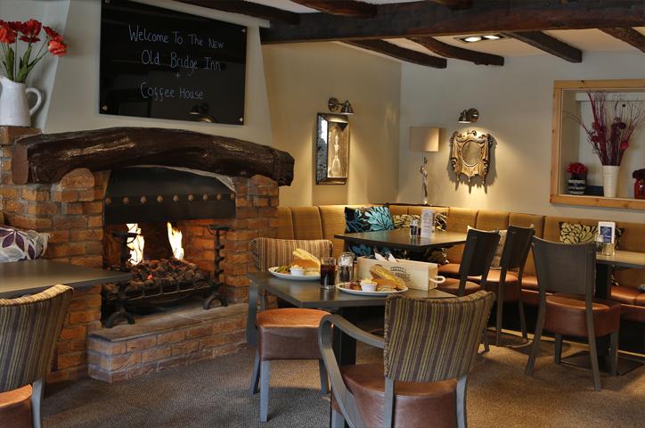 Dining Room of the Old Bridge Inn