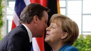 How long has it been since David Cameron last saw Angela Merkel?