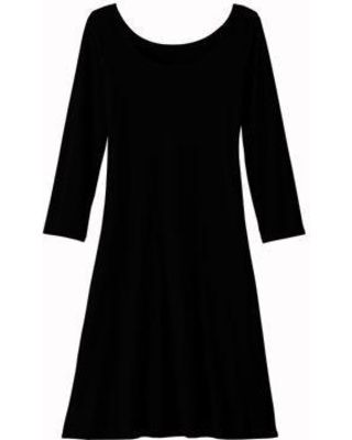 Travelsmith 3/4 Sleeve Ballet Neck Indispensible Dress
