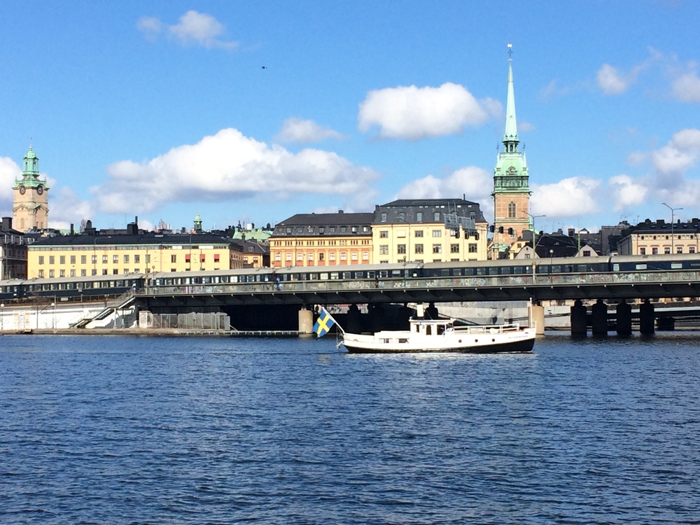 Gamla Stan view from Sodermalm