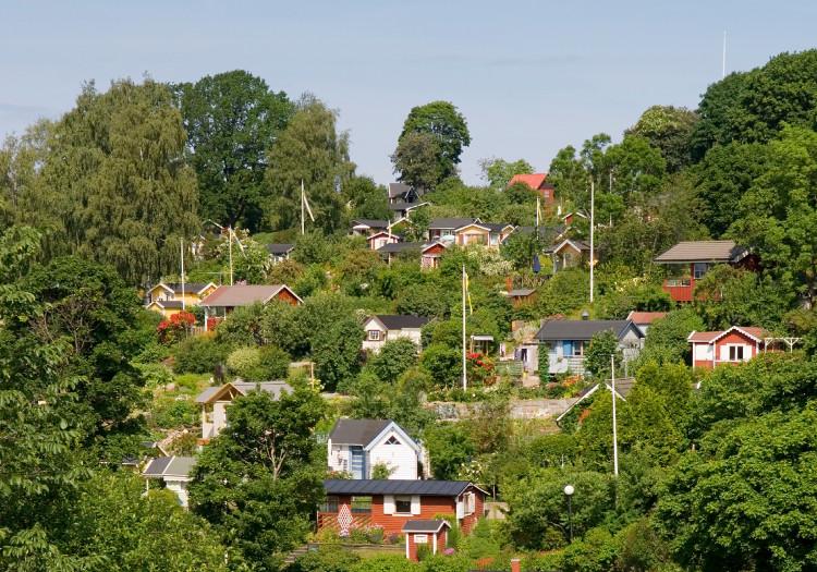 Tanto allotment gardens. Photo credit: visitstockholm.com