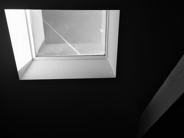 Skylight in the apartment where we stayed in Stockholm.  Photo credit Perry Argiropoulos ( perryja.com )