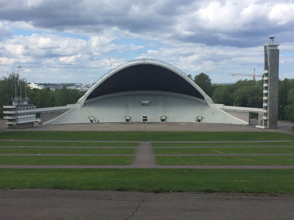 Tallinn Song Grounds, home to the Estonian Song Festival and 100,000 singers