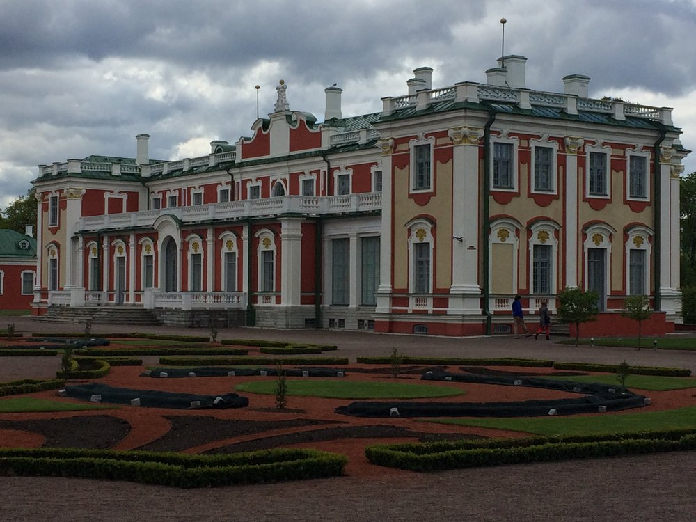Kadriorg Palace, built by Peter the Great
