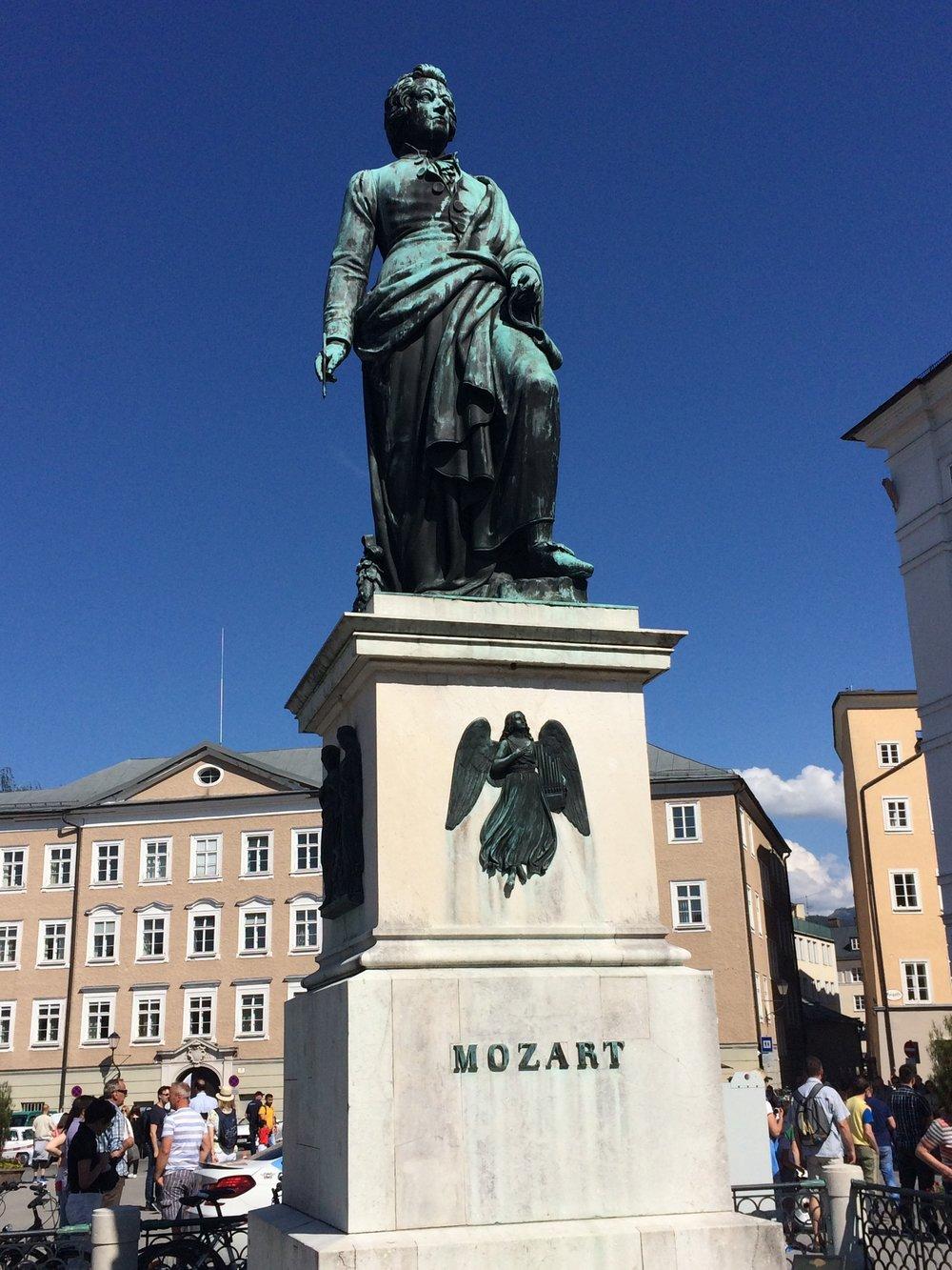 Famed son of Salzburg