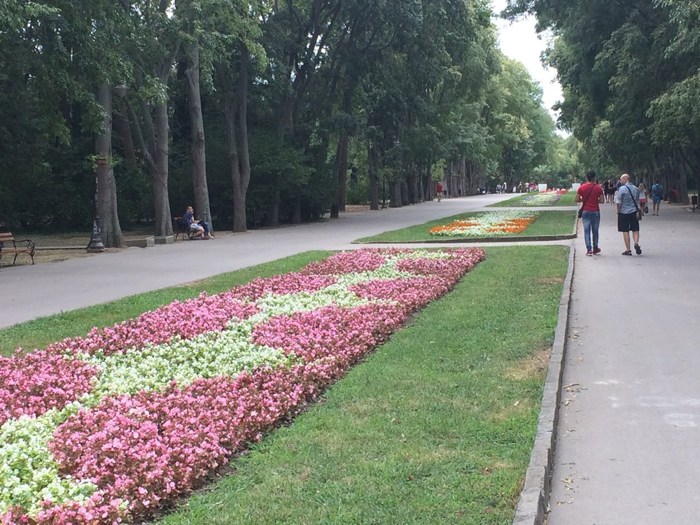 Varna seafront park