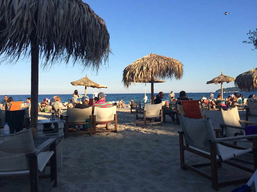 Drinks on the beach, Varna