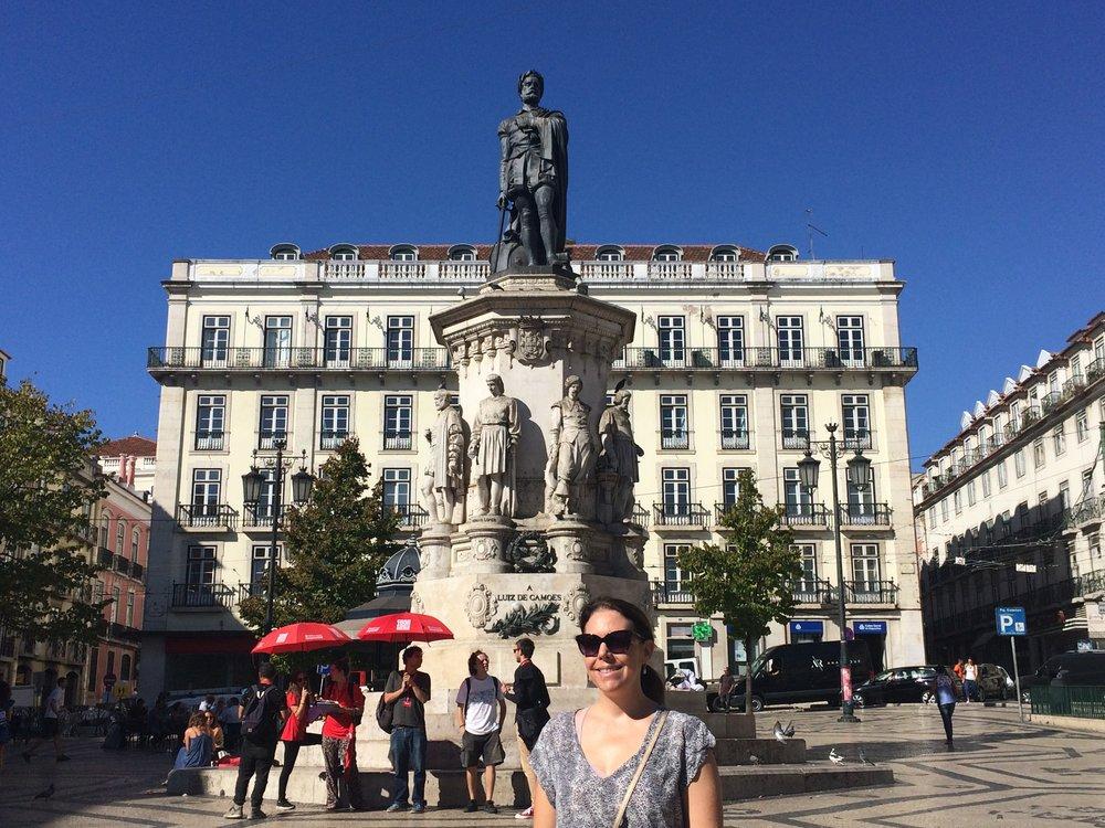 Plaza Luis de Camoes