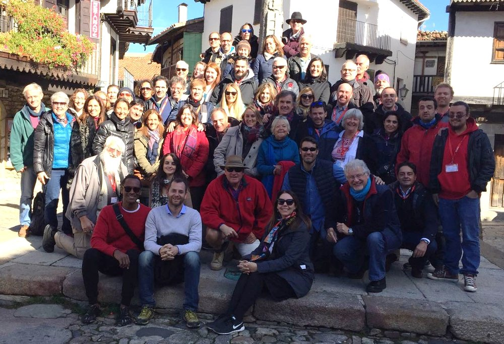 Group outing to village of La Alberca