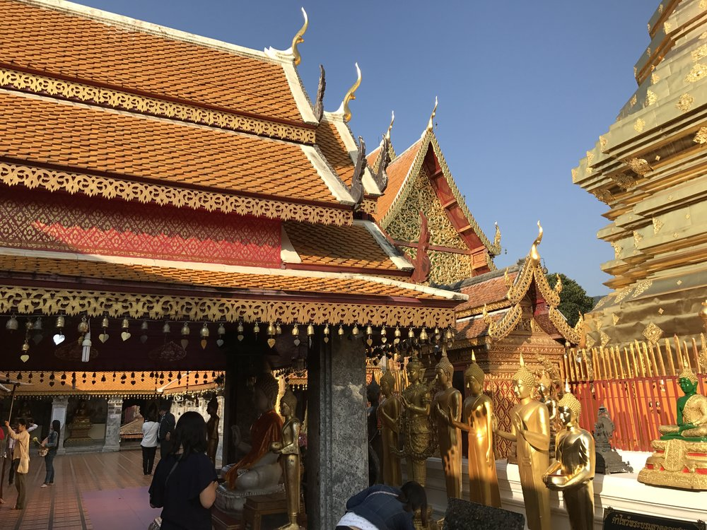 Doi Suthep temple, Chiang Mai.