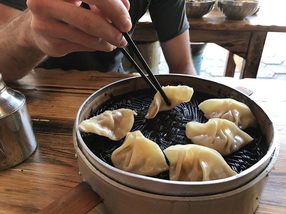 Easy to order and delicious:  dumplings!
