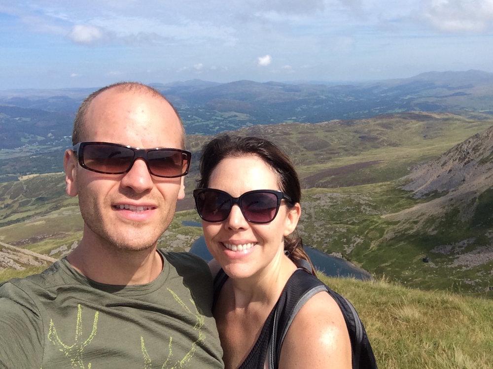 Cadair Idris peak near Dolgellau,Wales. August, 2016