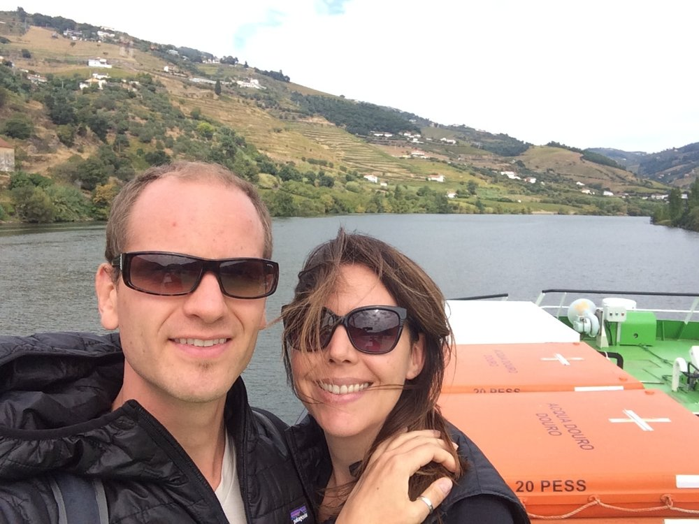 Douro Valley cruise near Porto, Portugal.  October, 2016