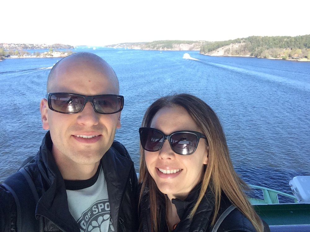 Cruise from Stockholm to Helsinki.  April, 2016
