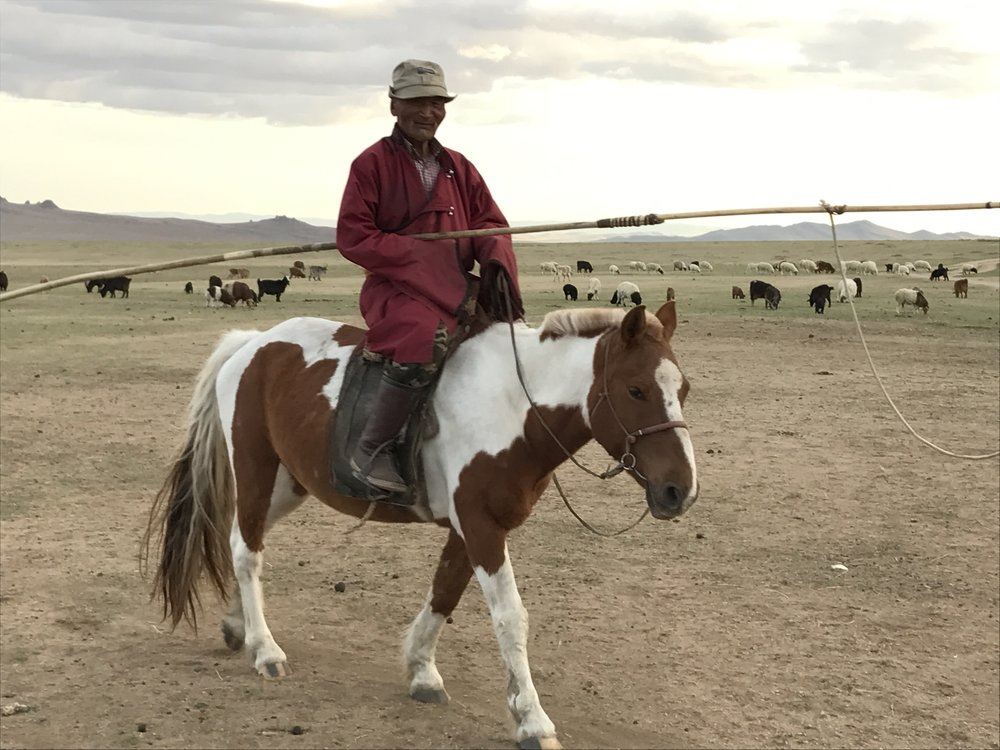 Bor is 76 years old and still riding a horse like a boss