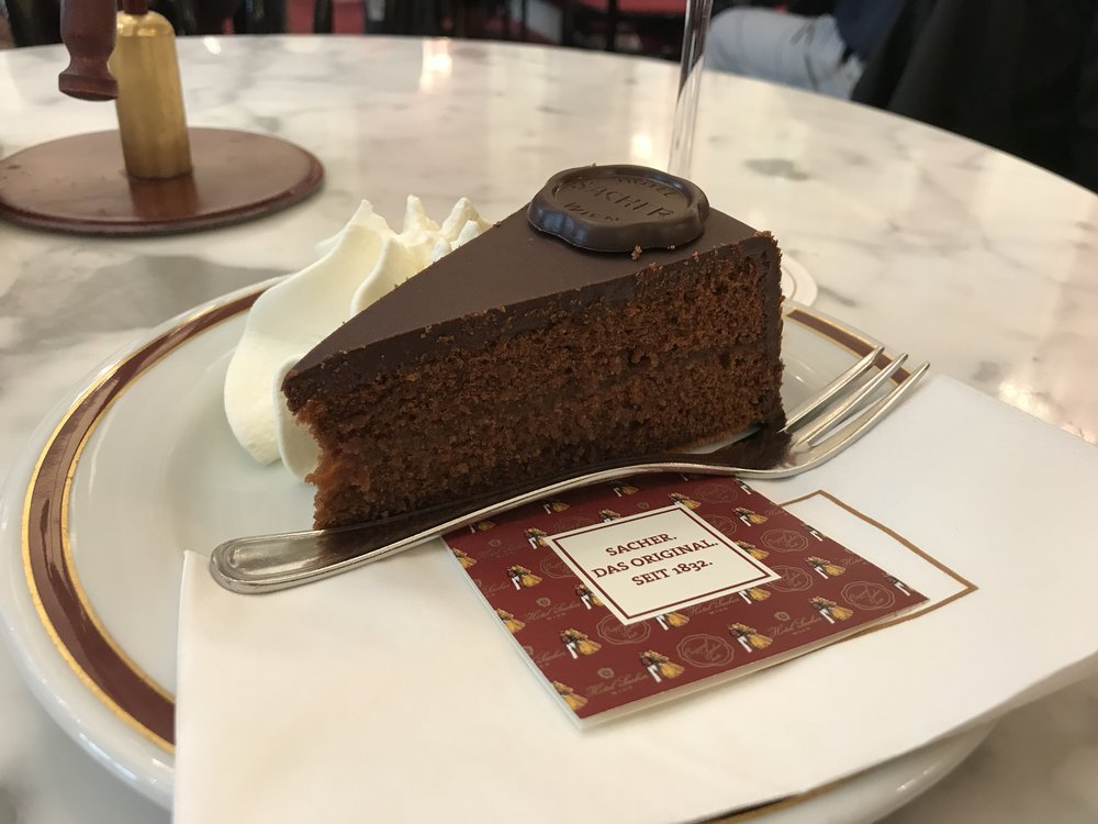 The original Sachertorte...even the courts agree!