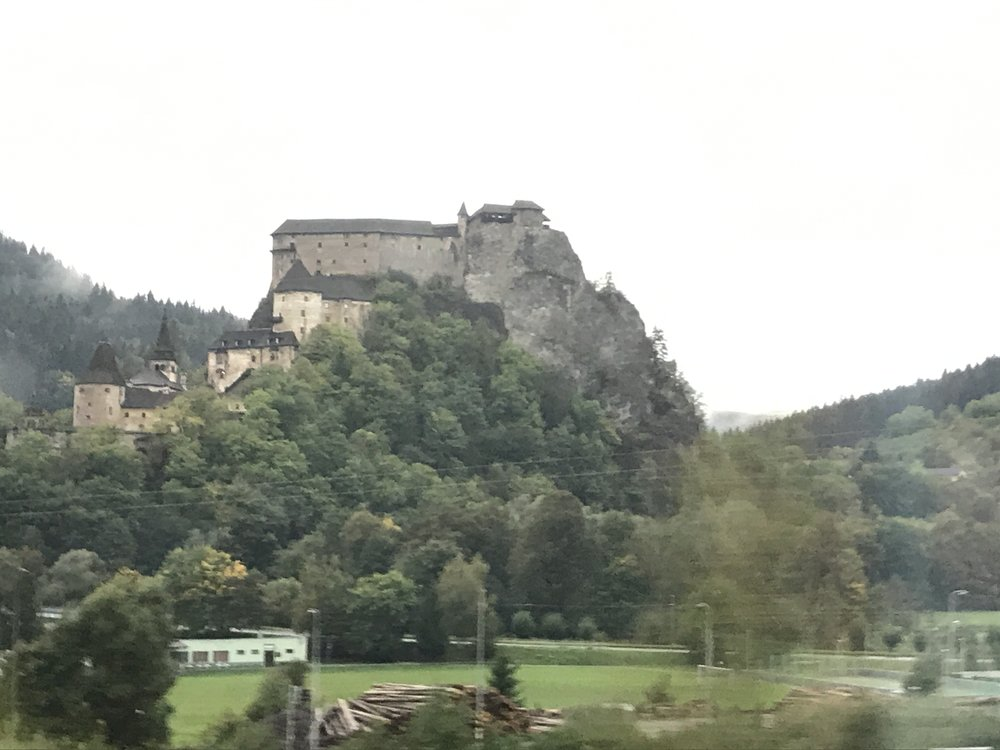Orava Castle in the mountains of northern Slovakia