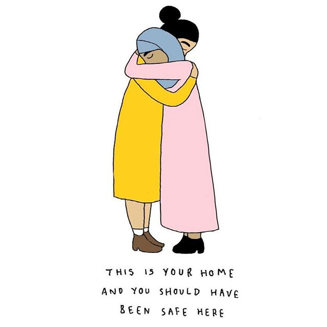 Our thoughts and prayers are with the families who have lost loved ones, our Muslim community and Christchurch at this time. Kia Kaha. The Copper team x