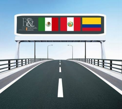 Mexico, Peru and Colombia are part of the Patent Prosecution Highway (PPH).