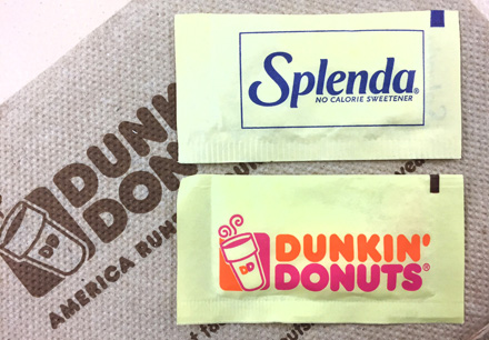 Splenda owner sues Dunkin' Donuts over a Trademark infringement