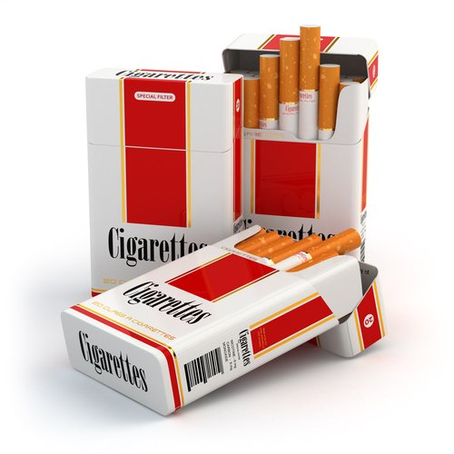 Uruguay's new cigarette boxes will only have the trademark of the company.