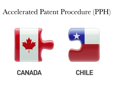 Patents in Canada and Chile