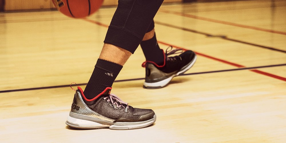 """low priced e440d 376f8 ... D Lillard branding. The shoe also features a metallic finish to the  tonal snakeprint heel cap and a callout to """"Townbiz"""" on the outsole, ..."""