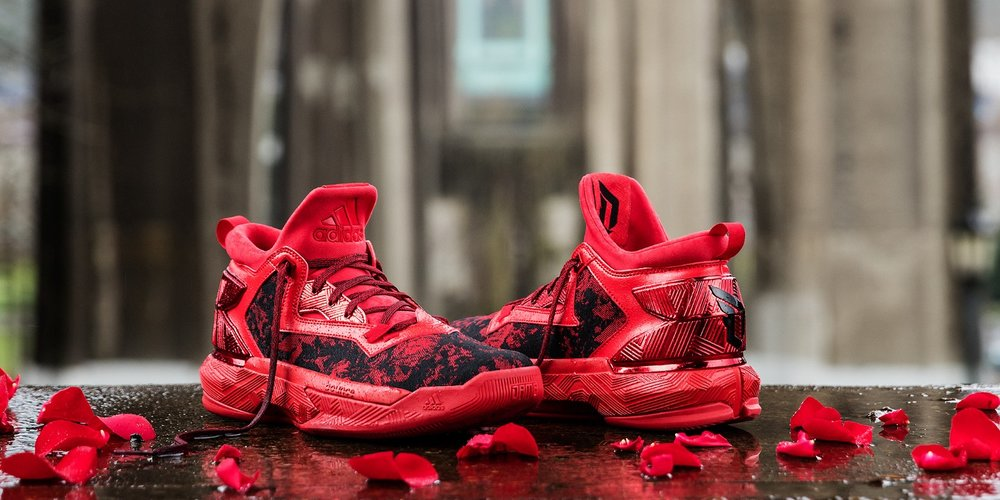 best service 9845b eee19 Inspired by the iconic flowers that bloom in the city of Portland and the  state of Illinois, the collection includes the D Lillard 2 and the D Rose 6  — a ...