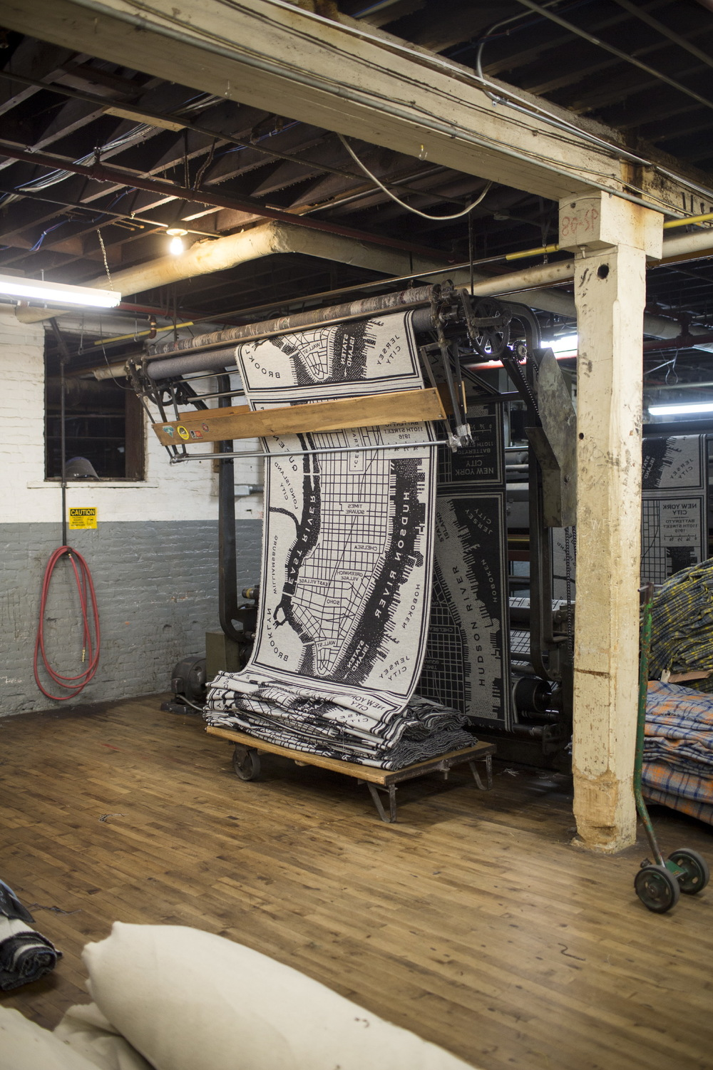 Faribault Woolen Mill for Monocle