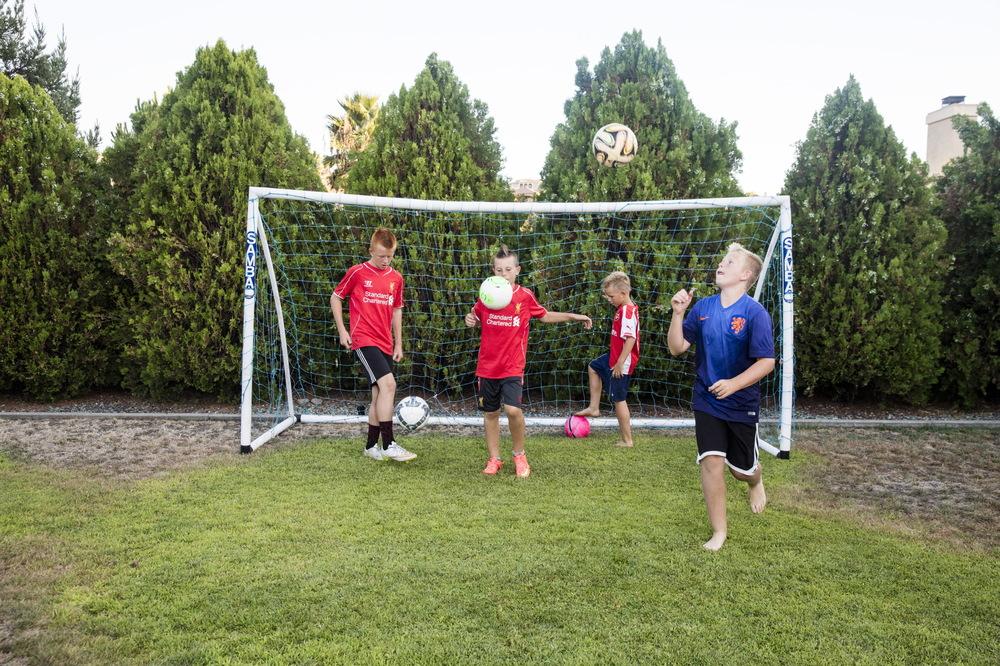 Soccer Family for Money Magazine